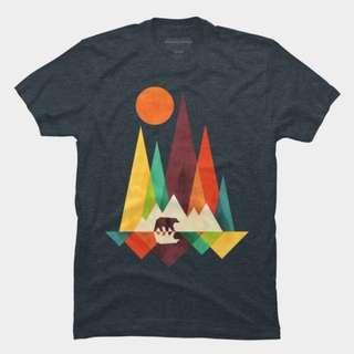 Geometrical Graphic Tshirt