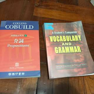 Preposition and Vocabulary and Grammar