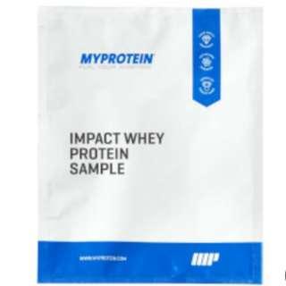 Myprotein Impact Whey Protein (Sample) 蛋白粉 試飲裝