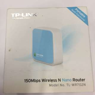 TP-LINK 150Mbps Wireless N Nano Router 無綫迷你路由器