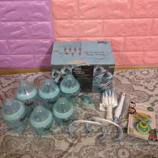 TOMMEE TIPPEE BABY BOTTLE SET