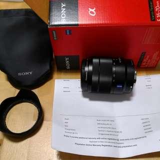 Sony E-mount carl zeiss lens E16-70mm F4