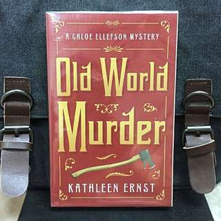 # Novel《Bran-New + Winner of the 2011 Anne Powers Fiction Prize + Chloe Ellefson Mystery Fiction》Kathleen Ernst - OLD WORLD MURDER :A Deadly Heirloom Hunt