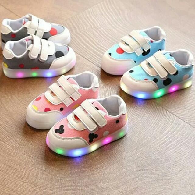 72acd65ab1d2 2018 children shoes light up shoes LED luminous