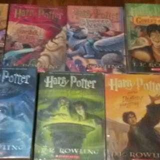 Harry pottet books 1-7