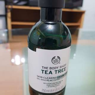 (authentic) Tea Tree Body Wash - The Body Shop