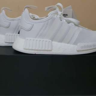 """NMD R1 """"White trace grey"""""""