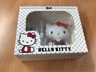 Hello Kitty Charm (1 set, pink and red)