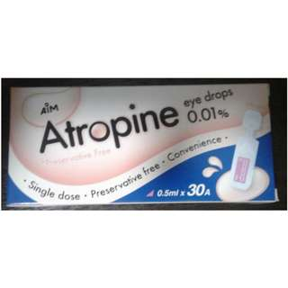Atropine Eye drops 0.01%