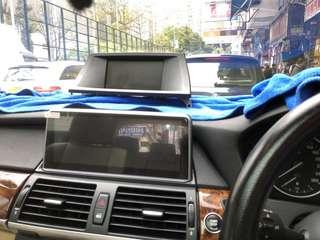 BMW X5 改大屏