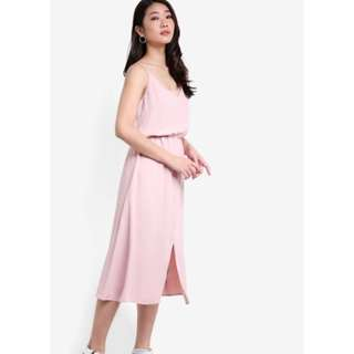 ZALORA Collection Cami Dress With Slits