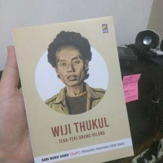Wiji Thukul - Seri Buku Saku Tempo