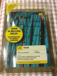 Teach Yourself Hindi book and cds