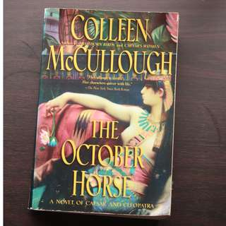 October Horse by Colleen McCullough