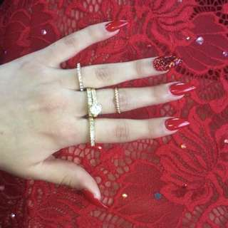 Gold Rings Size 6