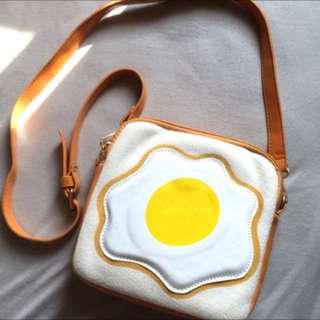 🍳吐司蛋造型斜背包🍳
