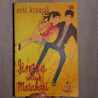 Novel Jingga Untuk Matahari