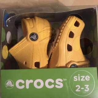 Bnib Baby crocs