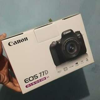 Kamera Canon 77D #umntv2018