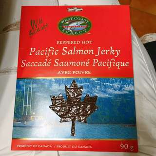 (Canada) Specialty Pacific Salmon Jerky