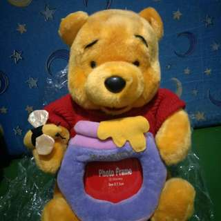Winnie the Pooh with photo frame
