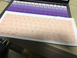 Mac book pro keyboard cover