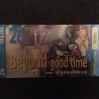 Beyond 1999 演唱會飛 (全新)