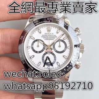 環亞  JF廠 ROLEX 新款 DAYTONA 116500 白面 爆款 7750