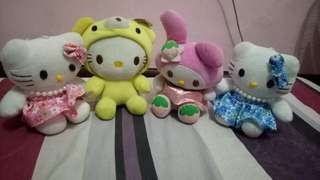 Take all Hello kitty stuffie
