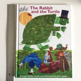 The Rabbit and the Turtle, Aesop's retold by Eric Carle