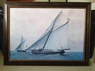 Painting - Sailboats