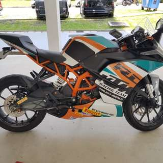 KTM RC200 Grounding Kit