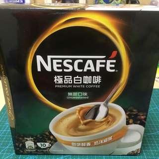 Nescafé premium white coffee