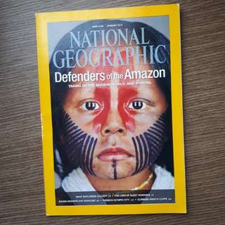 National Geographic Defenders of the Amazon Jan 2014
