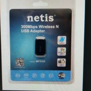 nwtis WF2123 n300 wireless nano USB 手指