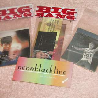 BIGBANG QUOTES STICKER 17 php per pack