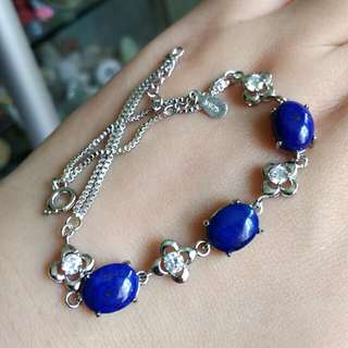 🍍Natural Blue Kyanite Bracelet😁