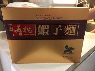全新未拆‼️壽桃牌蝦子麵8個裝😆