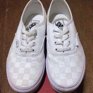Vans Checkerboard True White