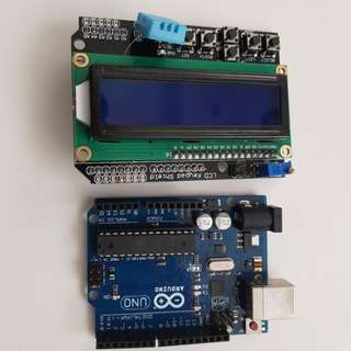 Arduino LCD and Keypad Shield