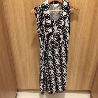 Elegant wrap around nursing dress