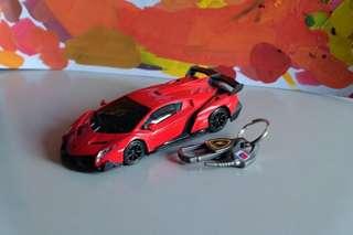 Lamborghini Veneno Red
