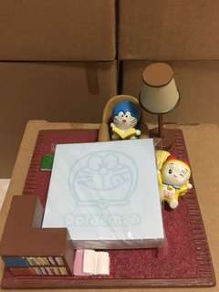 Doraemon memo pad holder 多啦A夢便條紙座(Brand new 全新)