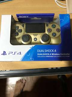 PS4 Wireless Controller (Gold)