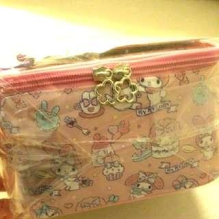 全新Melody化妝袋(購自日本)
