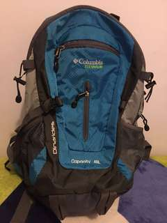 Authentic Columbia Titanium Outdoor Backpack