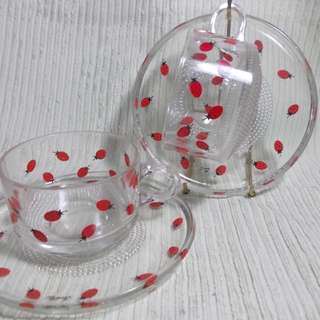 Sanrio Tea Cups Strawberry Design