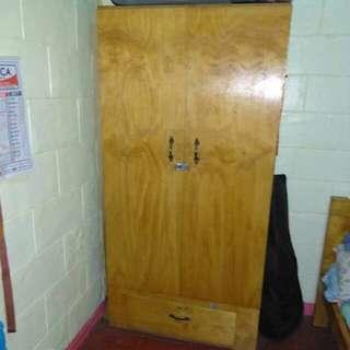 Wooden Double-door Closet