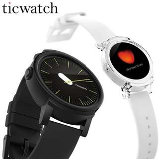 💖Official Distributer💖[Ticwatch] Ice Smart Watch Android Wear 2.0 MT2601 Dual Core - EXPORT SET