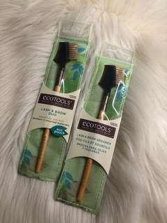 Ecotools Lash & Brow Duo Eyebrow Make up brush